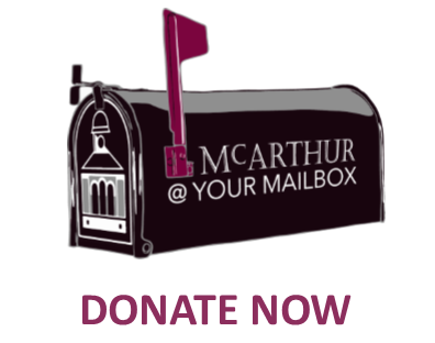 Donate McArthur at Your Mailbox